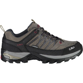 CMP Campagnolo Rigel WP Chaussures de trekking basses Homme, torba-antracite